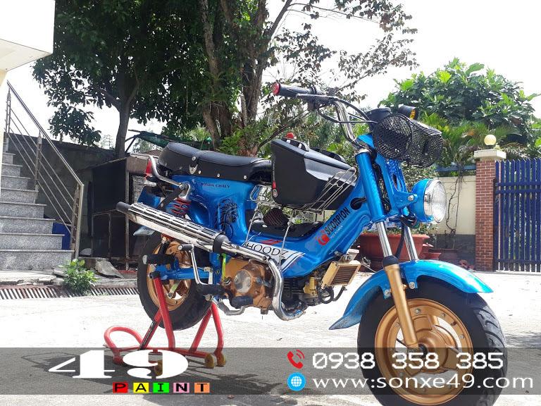 Sơn Tem Đấu Honda Chaly