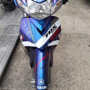 Mẫu sơn tem đấu chuyển màu xe Yamaha Sirius