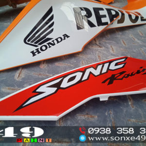 Sơn Tem xe Honda Sonic Repsol