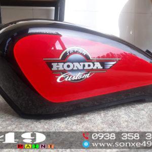 Tem Zin Honda Custom 125