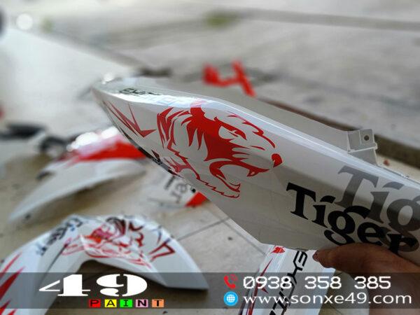 tem đấu tiger exciter 150