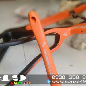 sơn xe đạp